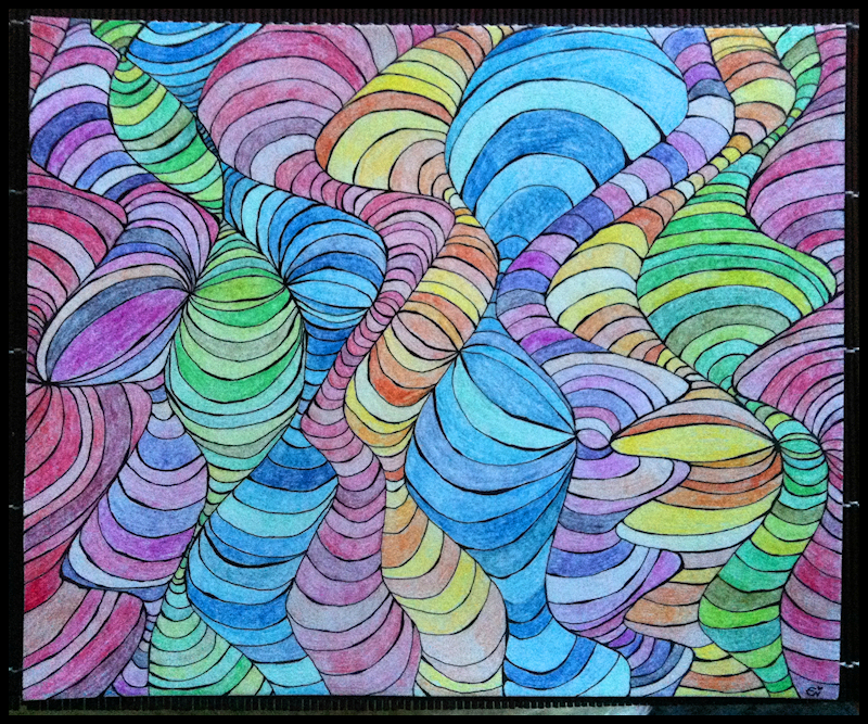 Lines I: Tubular (Finished Piece)