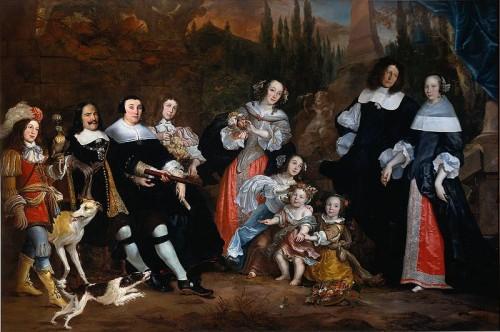 Jurriaen Jacobsz. Michiel de Ruyter and his family. 1662.