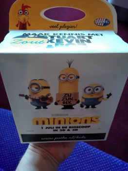 Minions snack pack
